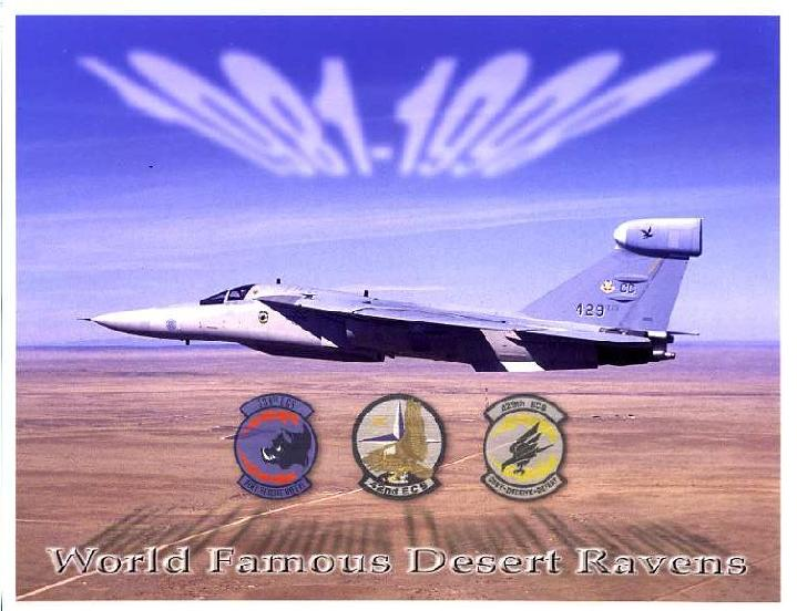 EF-111 RAVEN FAREWELL PHOTO, LIMITED NUMBER AVAILABLE.